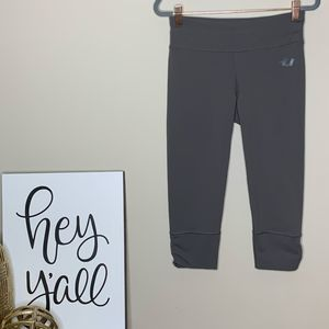 North Face Gray Cropped Activewear Leggings